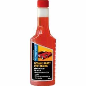 E10 benzine tanken met additief, Octane boost pro racing